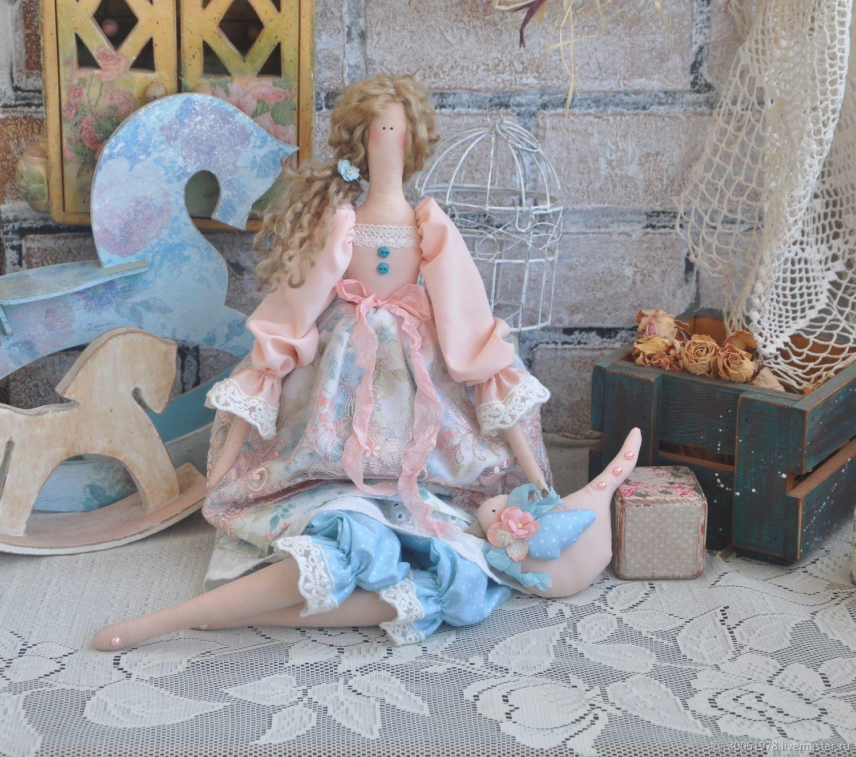 """Кукла в стиле Тильда """"Шепот лета-свежесть"""", Куклы Тильда, Славянск-на-Кубани,  Фото №1"""