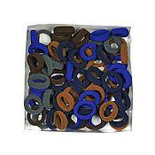 Материалы для творчества ручной работы. Ярмарка Мастеров - ручная работа Резинки для волос (75шт)в коробках маленькие основа. Handmade.