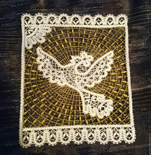 """Животные ручной работы. Ярмарка Мастеров - ручная работа. Купить Панно """"Жар птица"""". Handmade. Белый, панно на стену"""