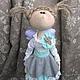 Кукла текстильная - украшение для интерьера.