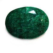 Украшения handmade. Livemaster - original item Emerald natural faceted 456 carat Exclusive !!!. Handmade.