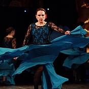 Одежда ручной работы. Ярмарка Мастеров - ручная работа фламенко танцевальный костюм. Handmade.