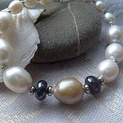 Украшения handmade. Livemaster - original item Pearl bracelet