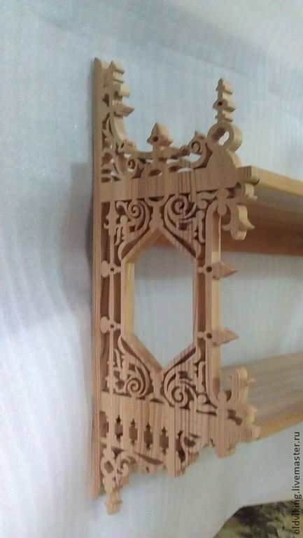 Мебель ручной работы. Ярмарка Мастеров - ручная работа. Купить Полка R - 422. Handmade. Полка, мебель деревянная, для интерьера