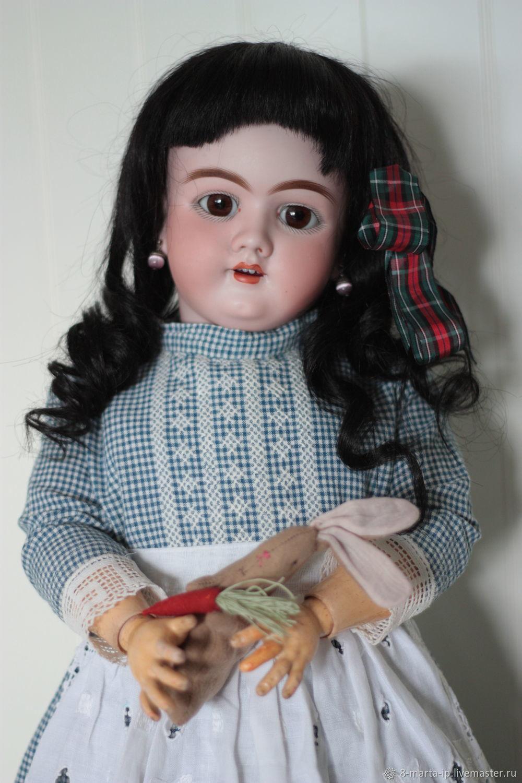 Винтаж:  продана Aнтикварная кукла Heinrich Handwerck 99, Куклы винтажные, Одинцово,  Фото №1