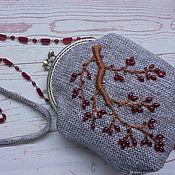 Сумки и аксессуары handmade. Livemaster - original item Women`s handbag on the clasp