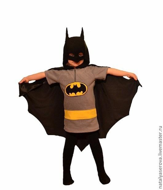 """Детские карнавальные костюмы ручной работы. Ярмарка Мастеров - ручная работа. Купить """"Бэтмен"""" костюм. Handmade. Рисунок, костюм бэтмена"""