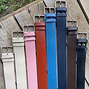 Аксессуары handmade. Livemaster - original item Genuine leather strap. Handmade.