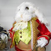 Куклы и игрушки ручной работы. Ярмарка Мастеров - ручная работа Белый кролик из Алисы в стране чудес. Handmade.