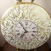 Для дома и интерьера ручной работы. Ярмарка Мастеров - ручная работа Настенные часы Вальс в белом Рококо. Handmade.