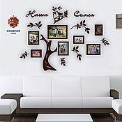 Сувениры и подарки handmade. Livemaster - original item Interior arrangement of a Large family tree. Handmade.