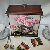Для дома и интерьера handmade. Livemaster - original item Tea house Roses and bumblebees. Handmade.