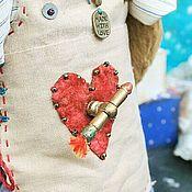 Куклы и игрушки ручной работы. Ярмарка Мастеров - ручная работа Музыкальный лисенок Амур. Handmade.