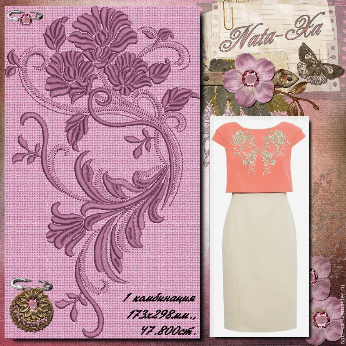 Галереи дизайнов для машинной вышивки