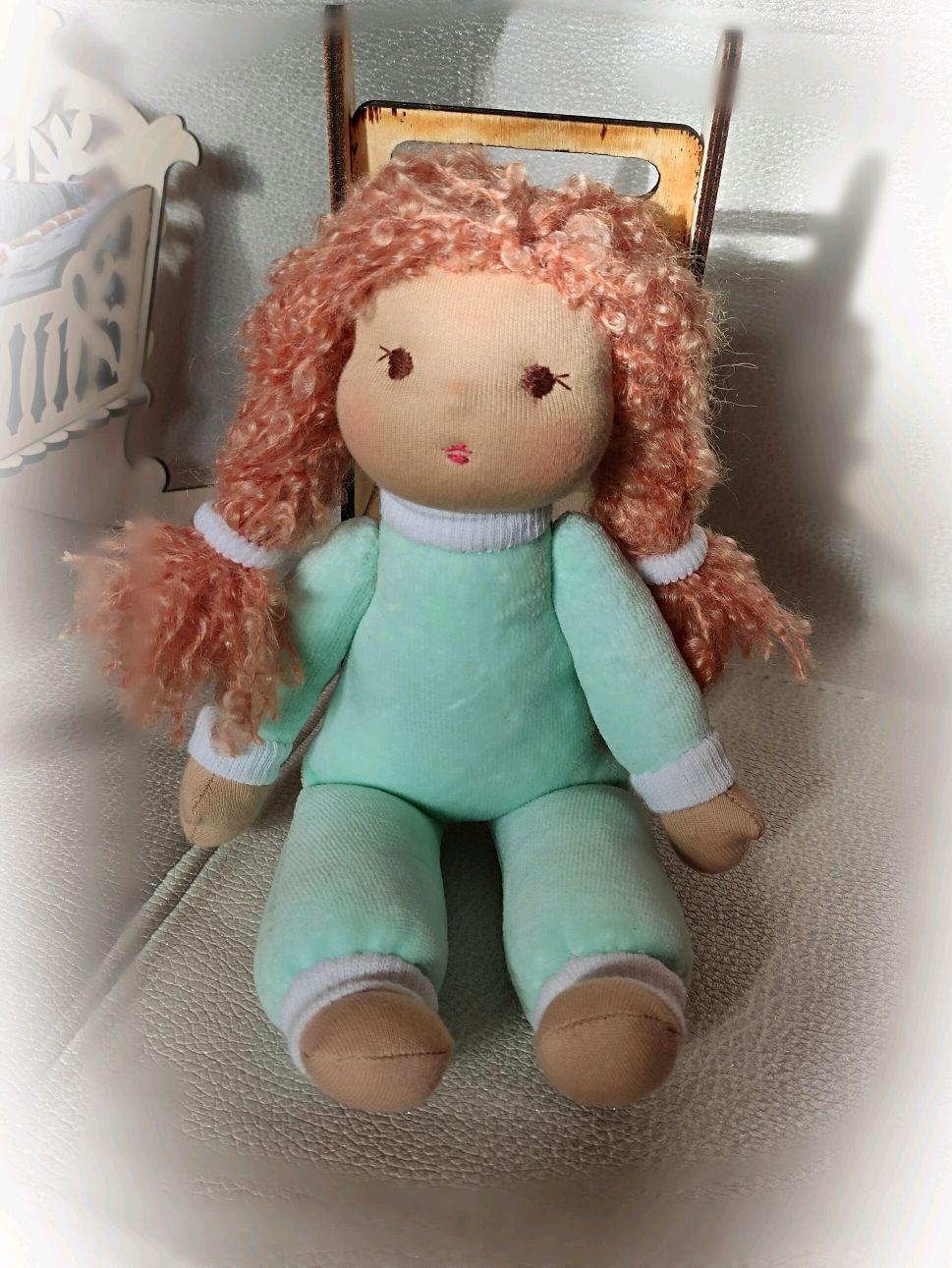 Вальдорфская кукла Маришка, вальдорфская игрушка, Вальдорфские куклы и звери, Балахна,  Фото №1