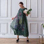 handmade. Livemaster - original item Silk dress