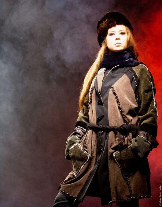 Верхняя одежда ручной работы. Ярмарка Мастеров - ручная работа. Купить пальто ВСЕ ОТТЕНКИ СЕРОГО. Handmade. Темно-серый