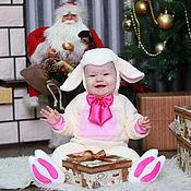 Работы для детей, ручной работы. Ярмарка Мастеров - ручная работа Карнавальный новогодний костюм Овечки для малышей и детей. Handmade.