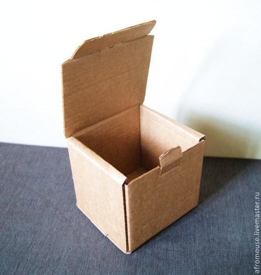 коробка `Простая-7` 12х11х11см крафт