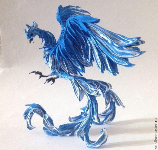 """Статуэтки ручной работы. Ярмарка Мастеров - ручная работа. Купить фигурка """"Жарптица"""" (статуэтка жарптица, птица феникс). Handmade."""