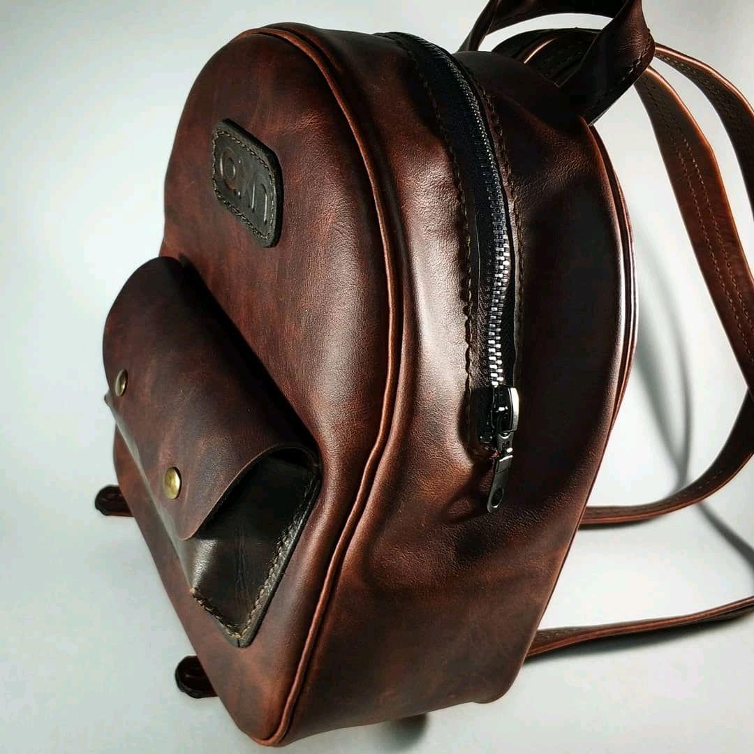Кожаный рюкзак – купить в интернет-магазине на Ярмарке Мастеров с ... 3b0290da63a