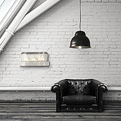 Для дома и интерьера handmade. Livemaster - original item Large light loft retro, vintage. Handmade.