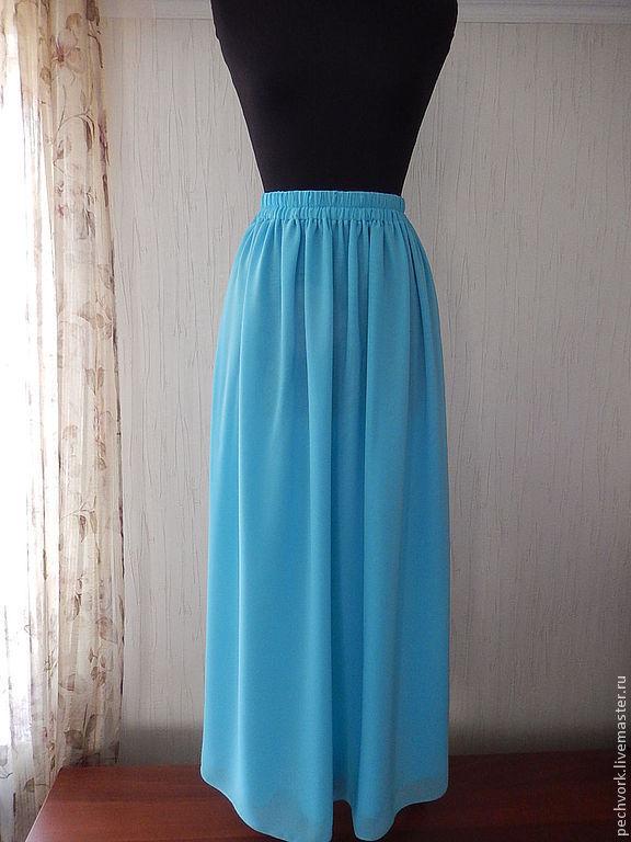 Шифоновая юбка своими руками фото 52