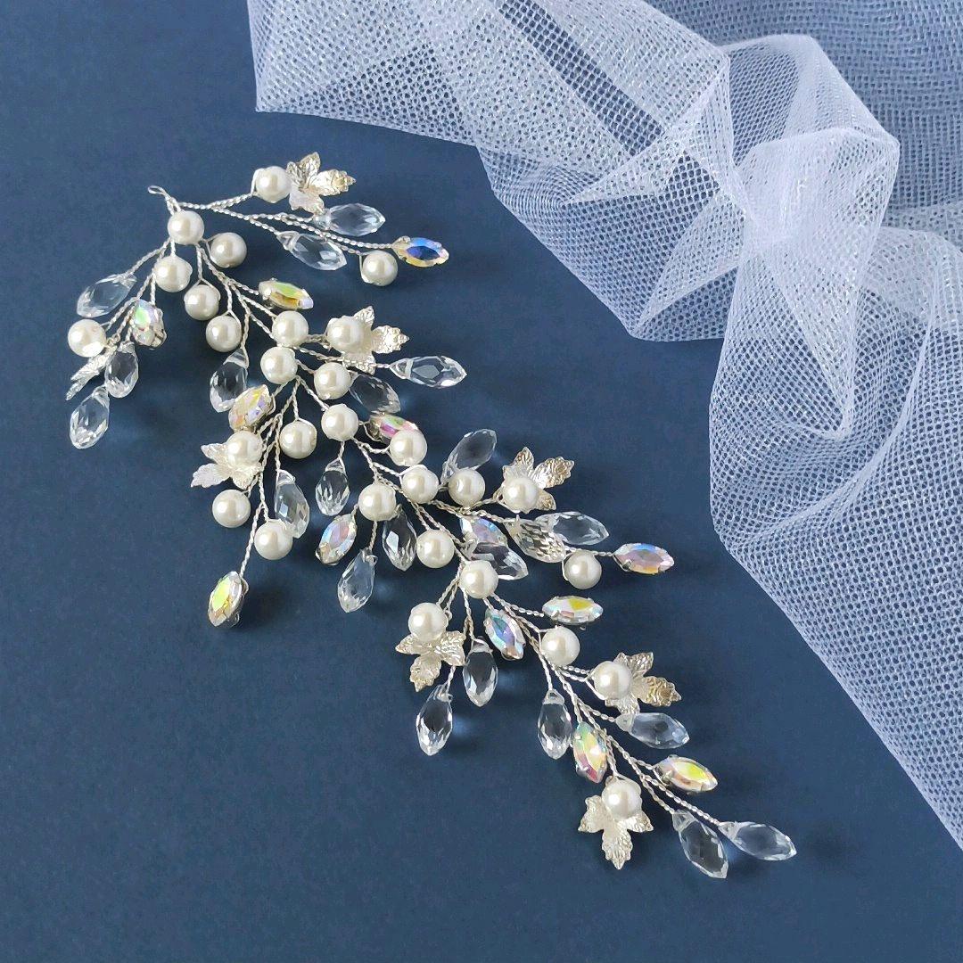 Свадебная веточка для прически, Украшения для причесок, Туапсе,  Фото №1