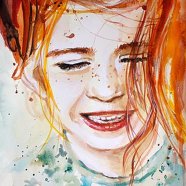 Картины и панно ручной работы. Ярмарка Мастеров - ручная работа Рыжая весна. Handmade.