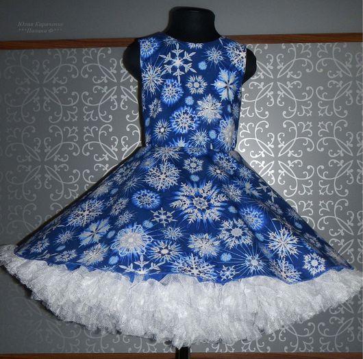 Шикарное платье из американского хлопка с блеском прошлогодней новогодней коллекции. Без пояса. Рюши из мягкого фатина. Вы можете выбрать любой понравившийся Вам вариант расцветки.