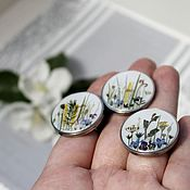 Ring handmade. Livemaster - original item Large ring-rings. Handmade.