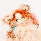 Куклы и игрушки ручной работы. Ярмарка Мастеров - ручная работа Софи,кошечка,тедди-долл. Handmade.