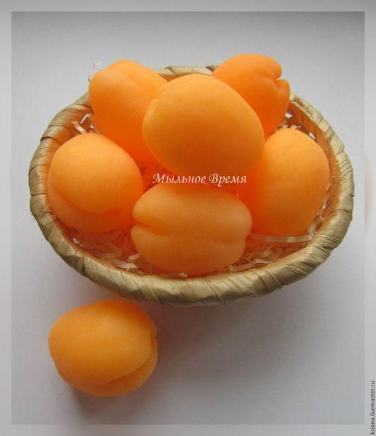 """Мыло ручной работы. Ярмарка Мастеров - ручная работа. Купить Мыло """"Абрикос"""". Handmade. Оранжевый, мыло сувенирное, фруктовое мыло"""