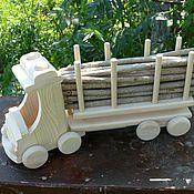 Куклы и игрушки ручной работы. Ярмарка Мастеров - ручная работа Лесовоз. Handmade.