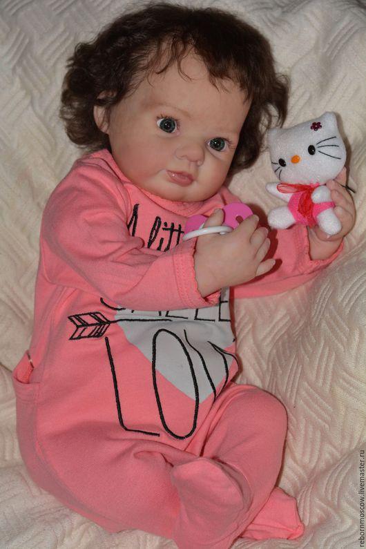 Куклы-младенцы и reborn ручной работы. Ярмарка Мастеров - ручная работа. Купить кукла реборн Любочка. Handmade. Бежевый, молд