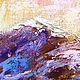 """Пейзаж ручной работы. """"Приют Отшельника"""" авторская картина маслом на холсте. ЯРКИЕ КАРТИНЫ Наталии Ширяевой. Ярмарка Мастеров."""