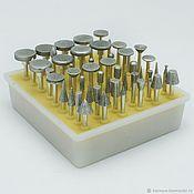 Инструменты ручной работы. Ярмарка Мастеров - ручная работа Набор алмазных головок d3мм 50шт. Handmade.