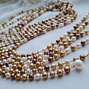 Работы для детей, handmade. Livemaster - original item Sautoire made of pearls