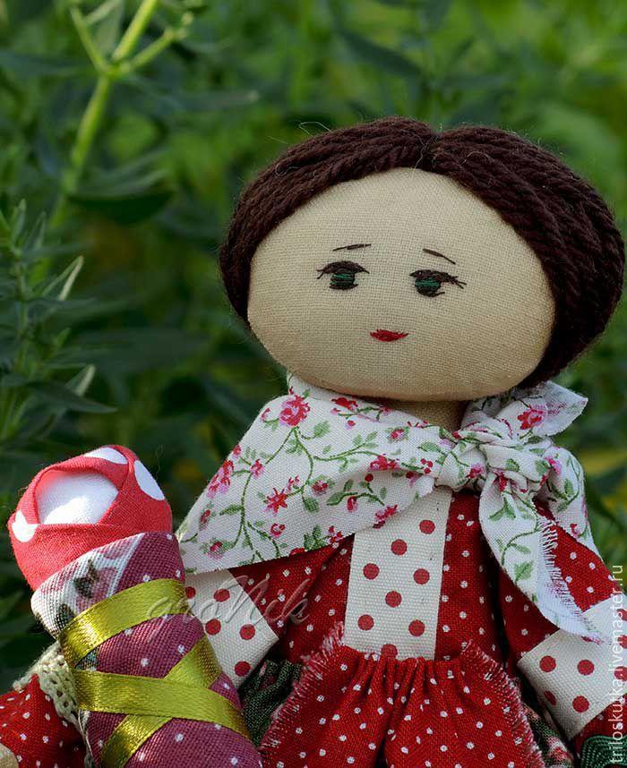 Куклы и игрушки. Кукла в народном костюме. Ярмарка мастеров. Федорова Анастасия. `Три лоскутка`