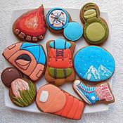 Сувениры и подарки handmade. Livemaster - original item Set of gingerbread.Gingerbread for tourism lovers.. Handmade.