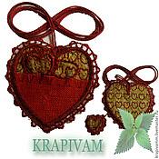 Для дома и интерьера handmade. Livemaster - original item Medallion of nettle luck. Handmade.