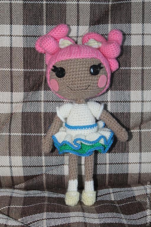 Куклы тыквоголовки ручной работы. Ярмарка Мастеров - ручная работа. Купить кукла Лалалупси (садовница). Handmade. Кукла ручной работы