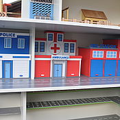 Куклы и игрушки handmade. Livemaster - original item Garage for cars. Parking. The Rack (Part 3). Handmade.