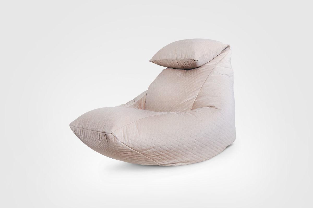 Мебель ручной работы. Ярмарка Мастеров - ручная работа. Купить Бескаркасное кресло Lounge V3 Beige Pie. Handmade. Мебель