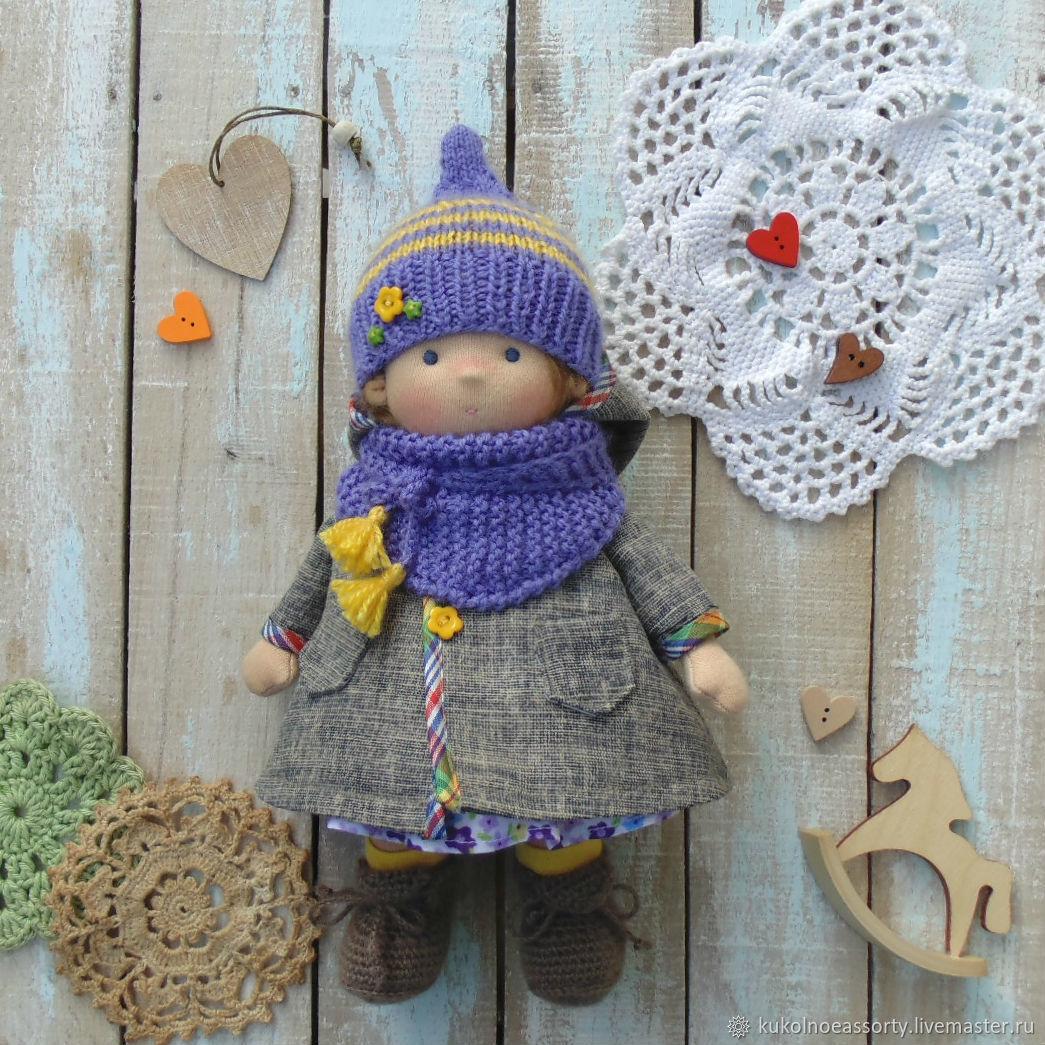Вальдорфская кукла :Глаша, 23 см, Вальдорфские куклы и звери, Североуральск,  Фото №1