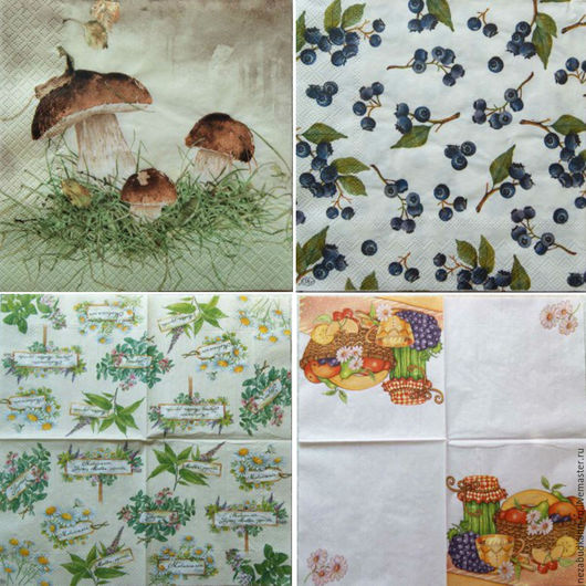 «Белые грибы» 303 «Черника» 302 «Садовые травы» 301 «Фруктовая композиция» 300