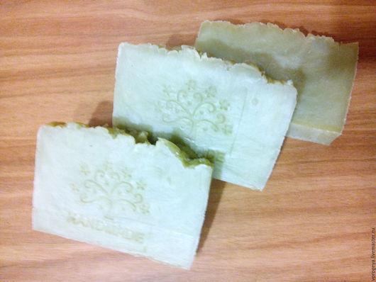 Мыло ручной работы. Ярмарка Мастеров - ручная работа. Купить Лавр и бергамот мыло с нуля. Handmade. Оливковый, травяное мыло
