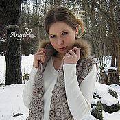 """Одежда ручной работы. Ярмарка Мастеров - ручная работа Жилет """" Winter in Paris"""". Handmade."""