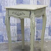 Для дома и интерьера ручной работы. Ярмарка Мастеров - ручная работа Прикроватный столик Винтаж - с выдвижным ящиком. Handmade.