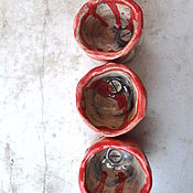 Рюмки ручной работы. Ярмарка Мастеров - ручная работа Ядовитые Рюмки (для лучших друзей). Handmade.